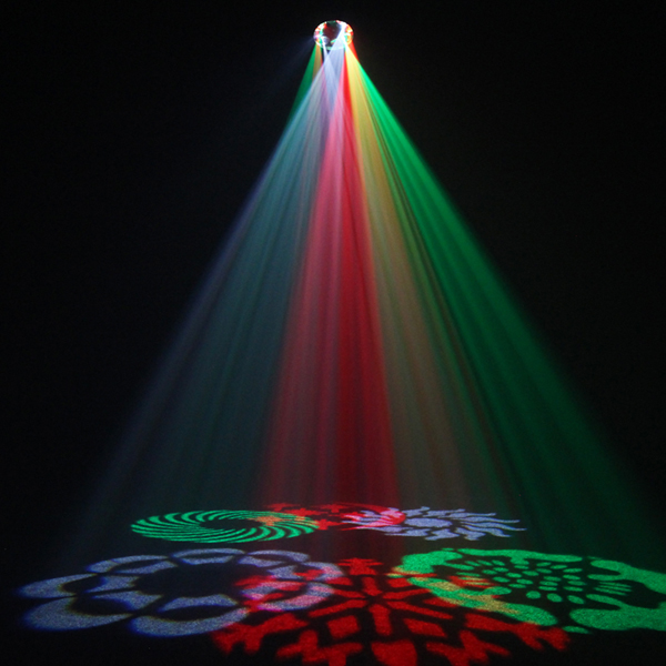 Image of EQUINOX CROSSFIRE LED GOBO LIGHT EFFECT
