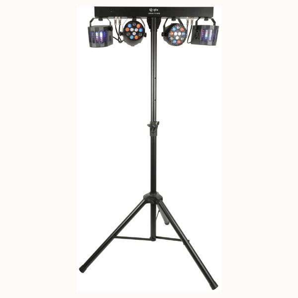 Image of QTX LIGHTWEIGHT LED DERBY FX BAR