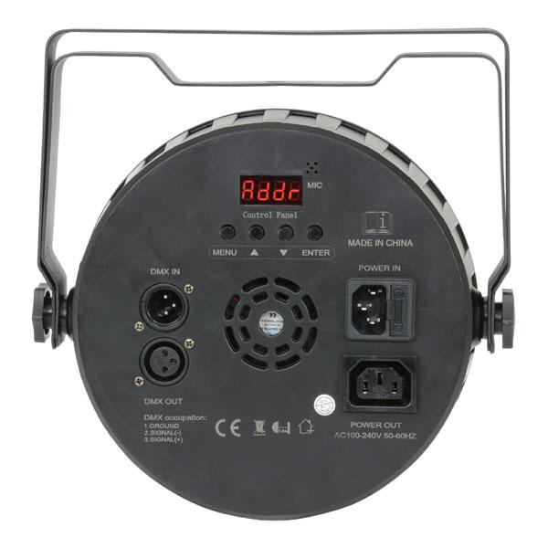 Image of QTX DMX HIGH POWER PAR56 3 IN 1 PLASTIC LED PAR CAN