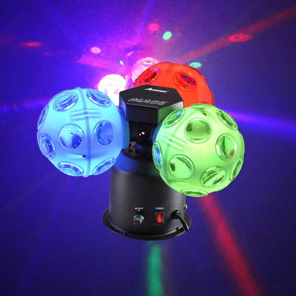 Image of ACME MACE LED TRI BALL LED LIGHTING EFFECT