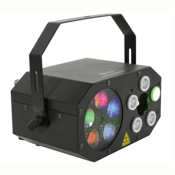 Image of QTX GOBO STARWASH 3 IN 1 LED LIGHT EFFECT