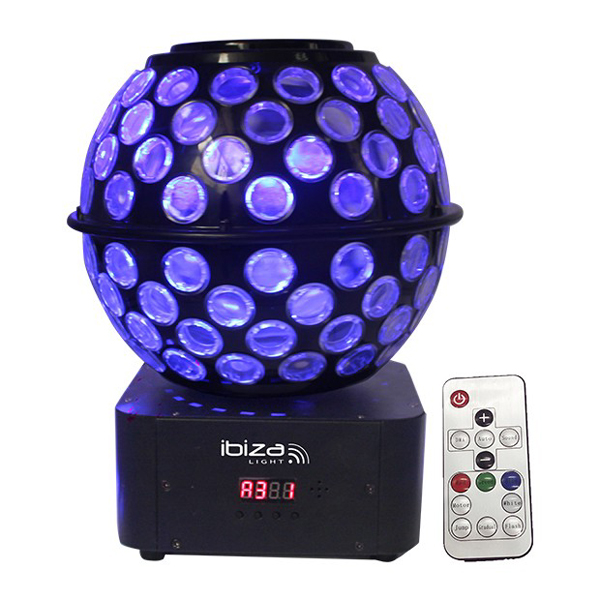 Image of IBIZA LIGHTS LED STARBALL WITH GOBO S
