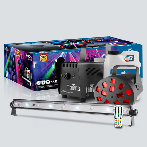 Image of CHAUVET JAM PACK DIAMOND - DJ PARTY PACK