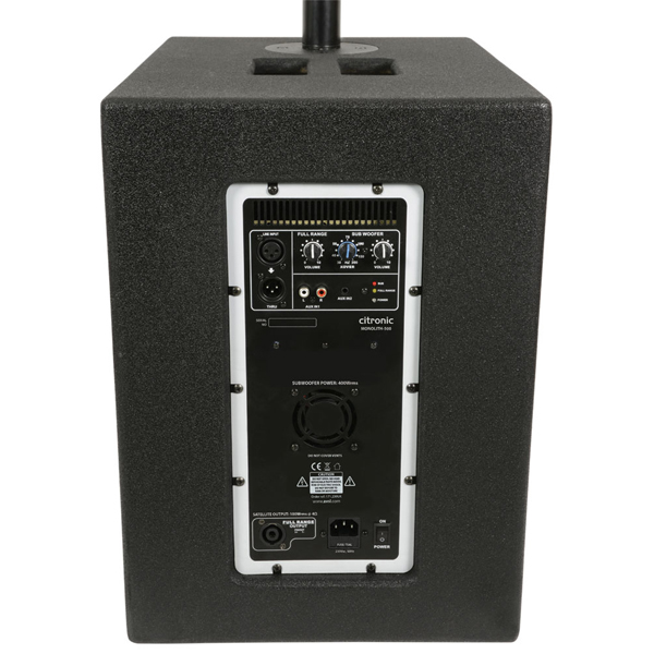 Image of CITRONIC MONOLITH II SUB + COLUMN ARRAY SPEAKER SYSTEM