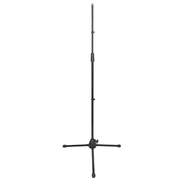 Image of NJS MICROPHONE STAND WITH TRIPOD LEGS - BLACK