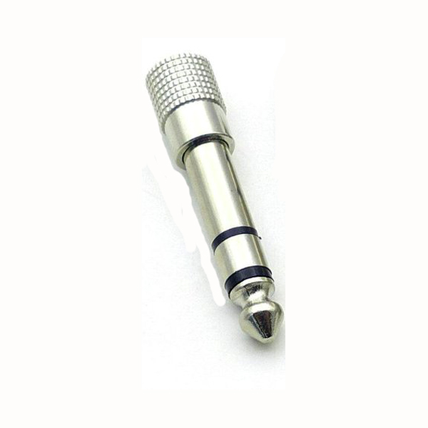 Image of 0.25in. STEREO PLUG TO 3.5 MM STEREO SOCKET