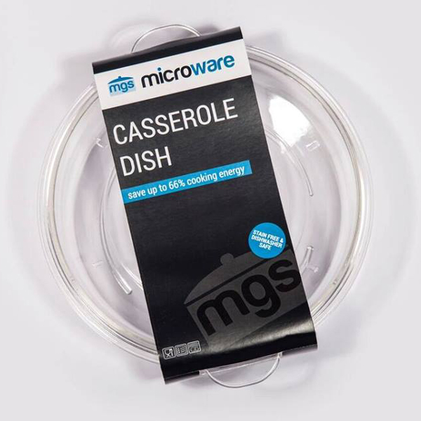 Image of MGS MICROWARE 1.25L CASSEROLE DISH